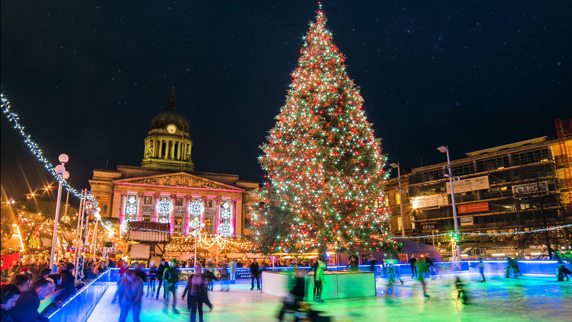 Christmas Event.Winter Wonderland Nottingham The Largest Event In East